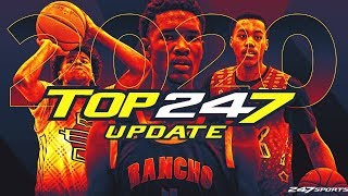 Updated Top247 basketball rankings for the class of 2020