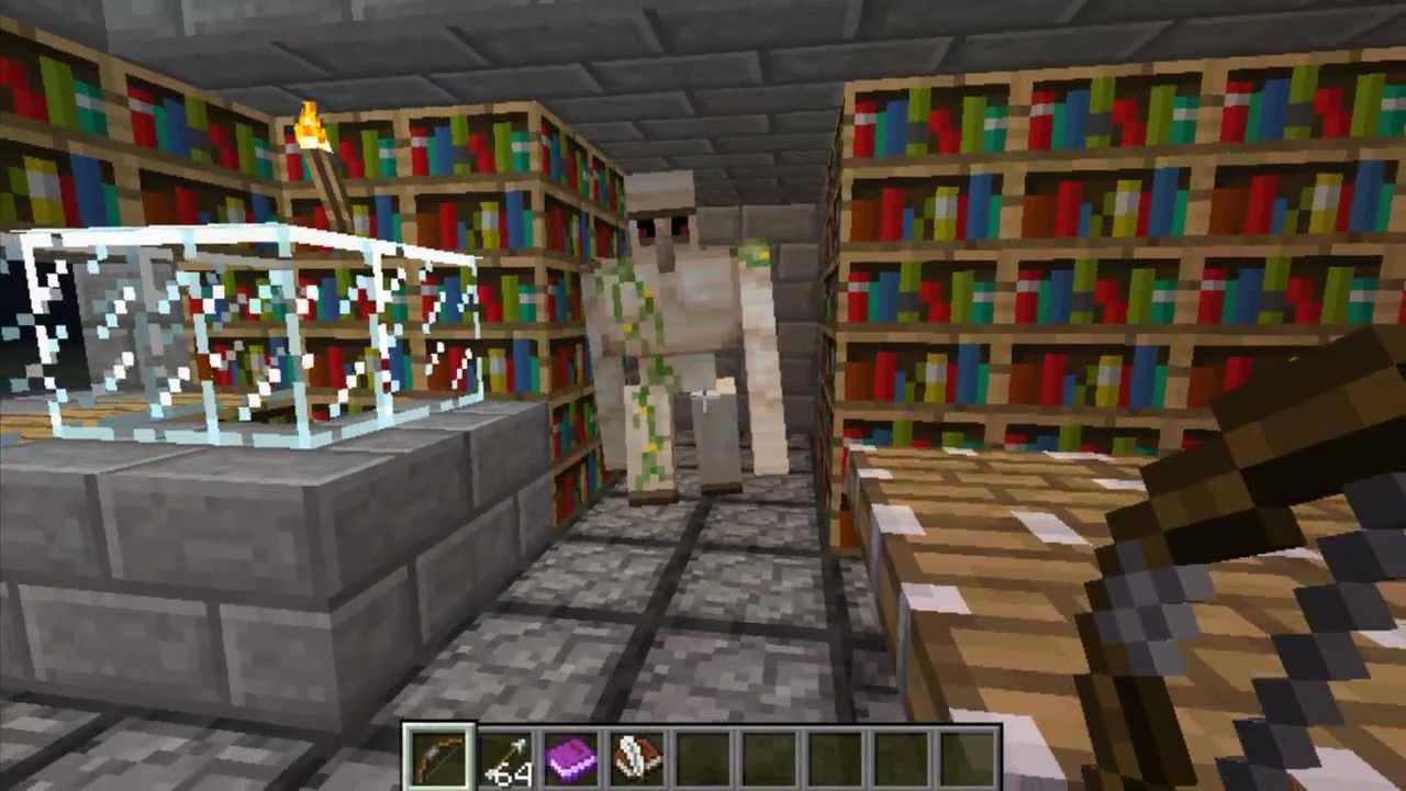 Tutorial Minecraft, como hacer un libro con colores. - YouTube
