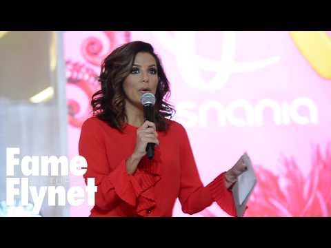 Eva Longoria Presents Her Clothing Line For The Limited In Poznan