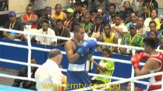 Boxing | Team Png's Boxers Cruise Past Their Bouts | Xv Pacific Games #emtvpacgames