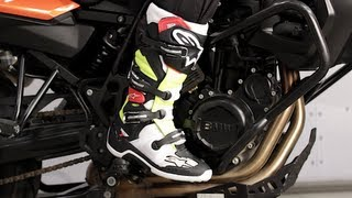 Alpinestars Tech 7 Boots 2014 Review at RevZilla.com