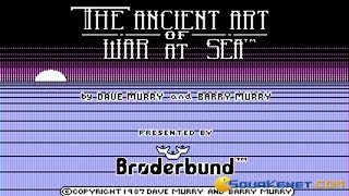 Ancient Art of War at Sea gameplay (PC Game, 1987)