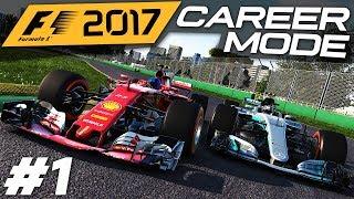F1 2017 CAREER MODE GAMEPLAY | FERRARI | AUSTRALIA (Preview Career Mode)