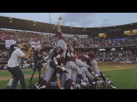 Final Out // Texas A&M Baseball 2017 Dog Pile