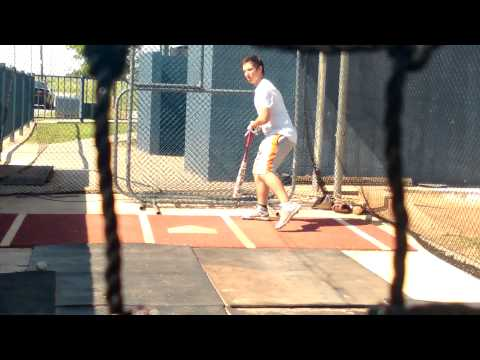 Marlow Middle School Baseball Batting Practice