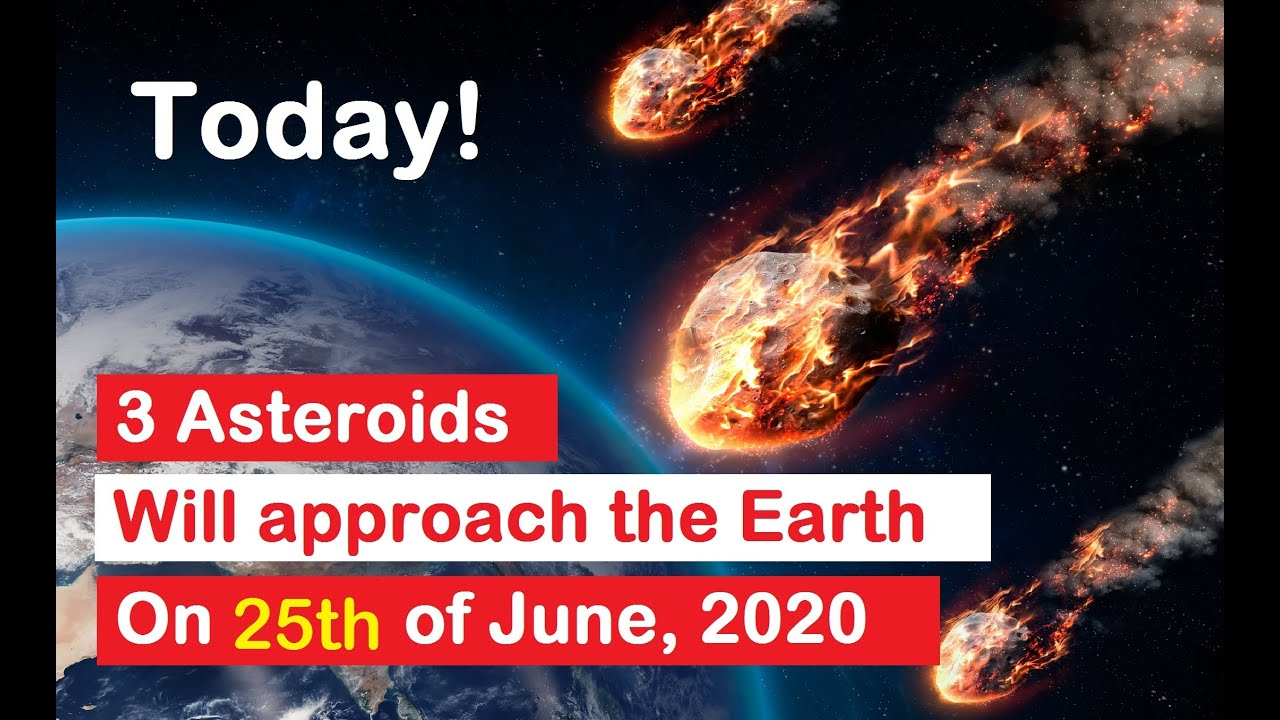 Asteroid  2020 MP1   Asteroid 2020 JH1   Asteroid 2020 MA   Asteroids 25 June 2020   NASA   NEO  JPL