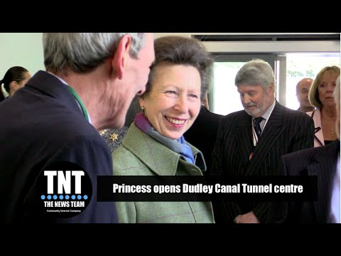 Princess opens Dudley Canal Tunnel centre