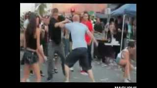 Guy Gets Kicked In The Head During Fight And Gets Up Like A Boss