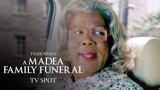 "Tyler Perry's A Madea Family Funeral (2019 Movie) Official TV Spot ""Hits"" – Tyler Perry, Cassi Davis"