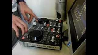 House mix on Hercules Dj Control MP3 e2