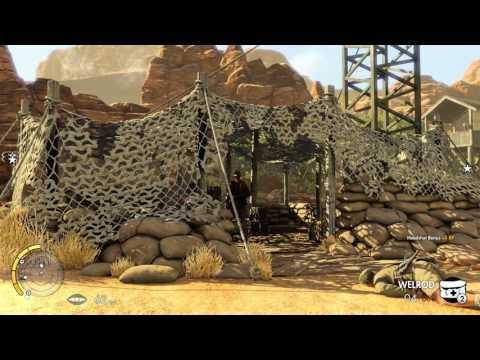 Sniper Elite 3: first mission  