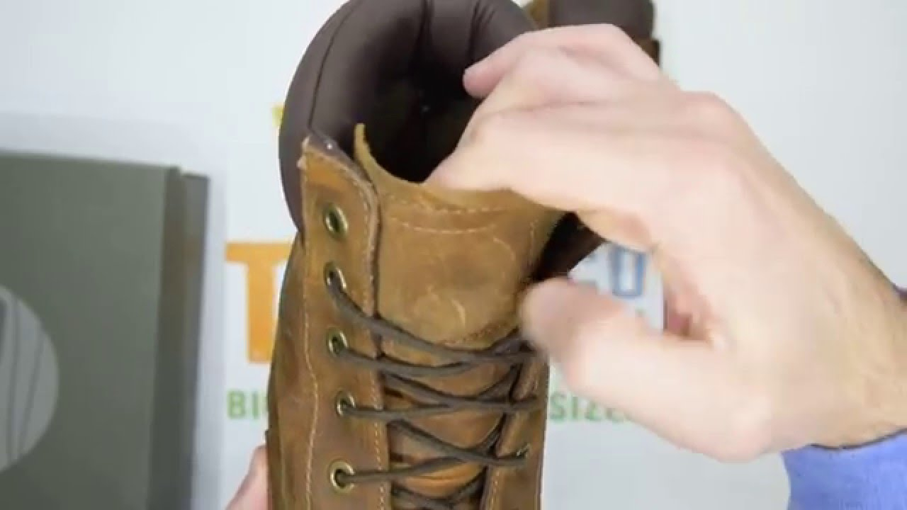Timberland Earthkeepers Rugged Wp 6 Inch Plain Toe Copper Walktall Unboxing Hands On You