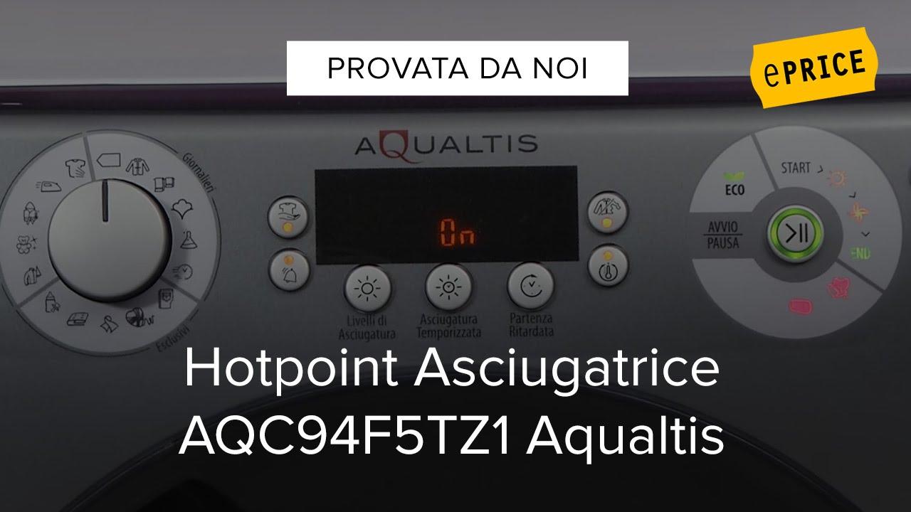 Video Recensione Asciugatrice Hotpoint Ariston Aqc94f5tz1 Aqualtis