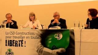 1 - Panel sur la commission Charbonneau - présentation des participants