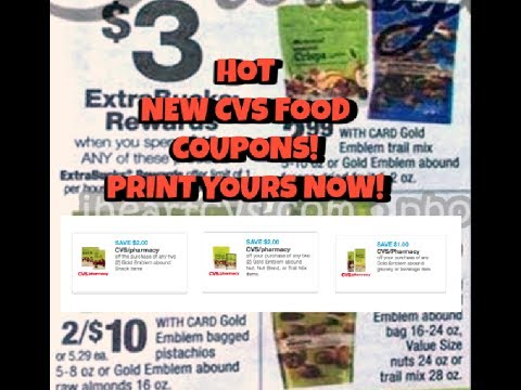 HOT—New CVS Food Coupons!!  Print yours Now!!