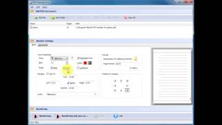 PDF Page Number Software - Add Arabic Numerals to PDF Page