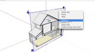 Sketchup: Cutting Plans And Sections