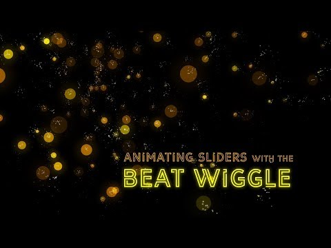 Animating Sliders with BeatEdit for After Effects - In Depth Tutorial