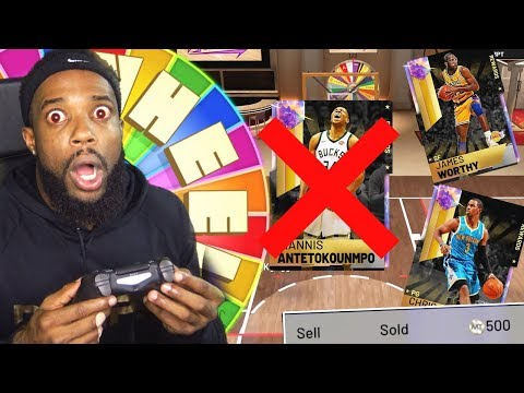 Quickselling My 99 Ovr Galaxy Opals Wheel of Fortune Forfeit! NBA 2K19 MyTeam thumbnail
