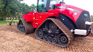 2012 Case IH Steiger 600 Quadtrac Articulated Crawler Tractor With Dowdeswell Plough