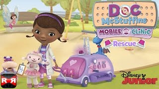 doc mcstuffins mobile clinic rescue by disney ios iphone ipad ipod touch gameplay