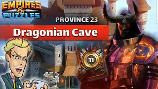 Final Level Season 1 Province 23 Empires And Puzzles Youtube