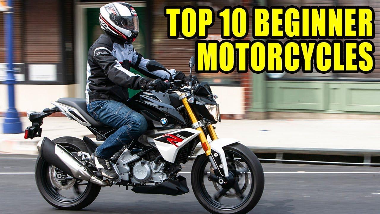 Top 10 Beginner Motorcycles Youtube