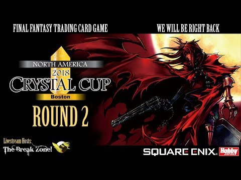 FFTCG - Crystal Cup - BOSTON - Swiss Round 2 - Ice/Earth vs Wind/Water