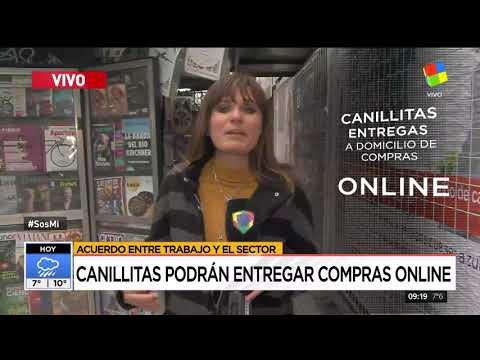 Canillitas podrán entregar compras online