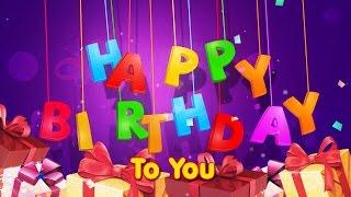 Happy birthday song (English - Frensh - Arabic - Spanish)    SanaEla