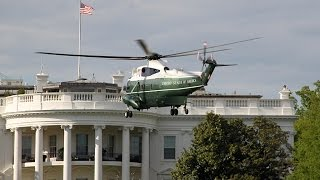 marine one vh 3d landing takeoff white house