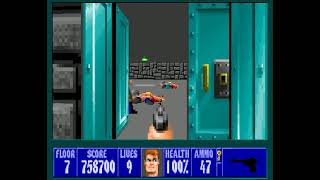 [Wolfenstein 3D] I am Death incarnate - Pistol only - Floor 7 ep1