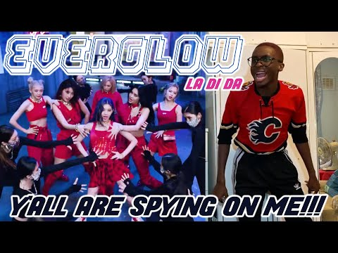 CURSING OUT EVERGLOW FOR 14 MINS STRAIGHT!!! 🤯🤬😫 | EVERGLOW - LA DI DA MV REACTION 💖✨