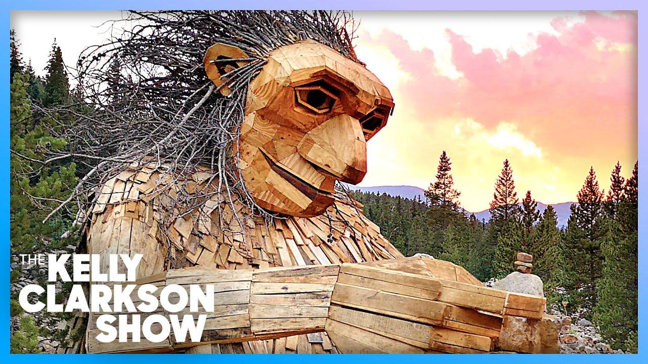 Man Transforms Trash Into Larger-Than-Life Sculptures
