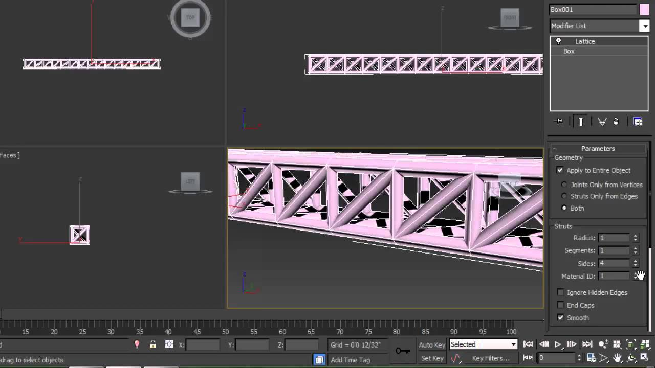 How to make Stage Truss on 3Ds Max 2013 - YouTube