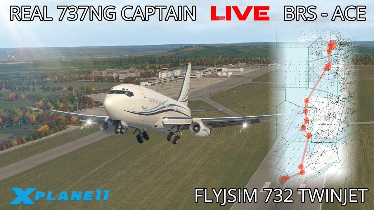 Real Airline Captain LIVE | ZIBO MOD 737 | Riga – Tallinn