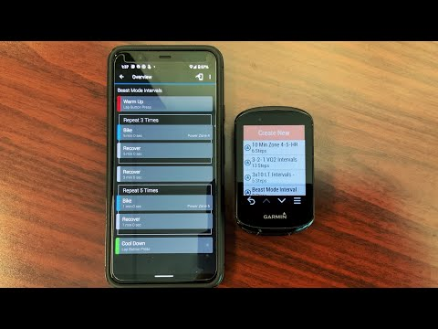 How to Create Workouts for Your Garmin Edge