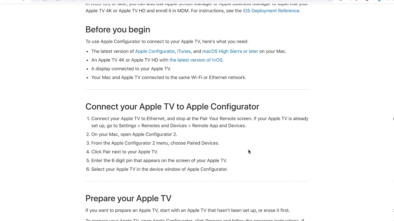 How to CONTROL APPLE TV from MAC?
