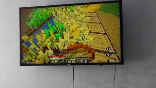 Minecraft на PlayStation 4 slim