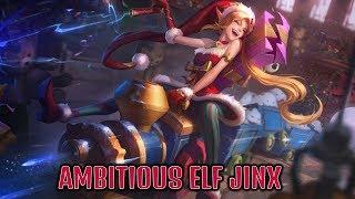 Ambitious Elf Jinx Gameplay | League of Legends PBE