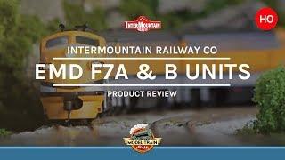 HO scale Intermountain EMD F7