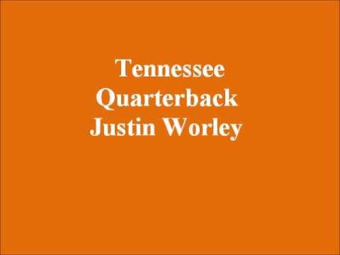 Tennessee Quarterback Justin Worley