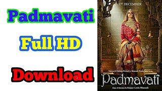 Padmaavat (2018) Hindi 720p HDRip Full HD Movie Download