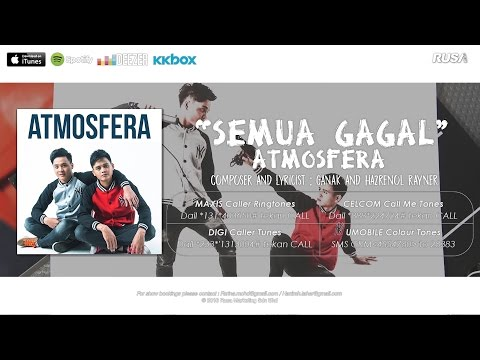 Atmosfera - Semua Gagal [ Official Lyrics Video ]