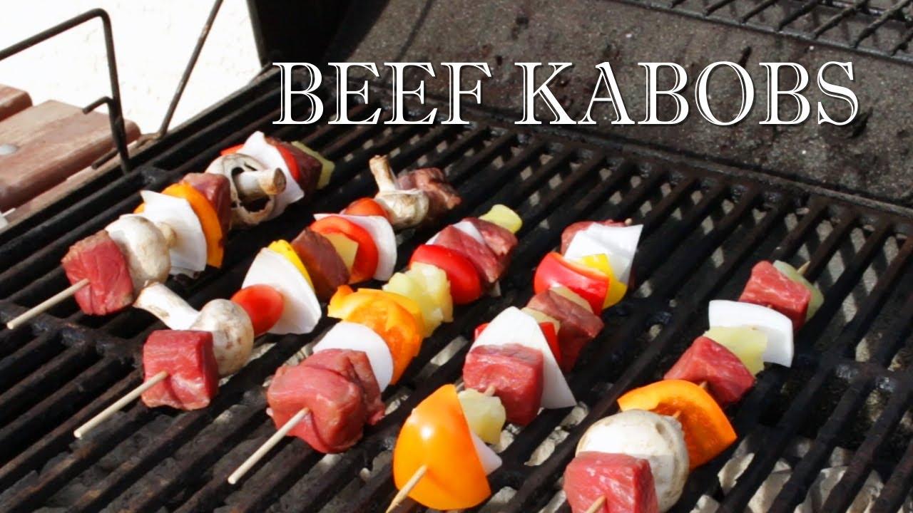 How To Make Beef Kebabs Easy Steak Kabobs Recipe