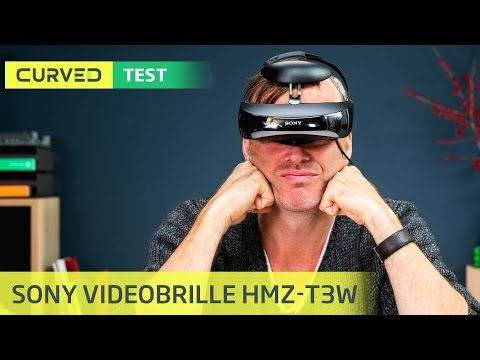 Videobrille von Sony im Test / Curved