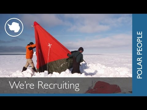 Cool Antarctic Jobs - Recruiting Now!