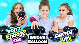 Don't Choose the Wrong Balloon Switch Up Style - Clear Slime Edition!