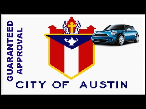 Austin, TX Automobile Financing : How to Buy a Car with Bad Credit, No Money Down & No Co-signer?