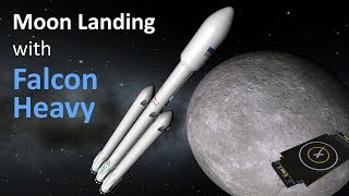 Download Moon landing with reusable SpaceX rockets in KSP/RO Mp3 and Videos